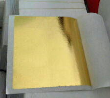 500 Sheets (4x4 cm) 24K 100% Pure Gold-leaf for facial mask spa ANTI-Wrinkle