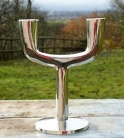 1970s Mid Century Modern  candlestick candelabra * Retro chic dining table
