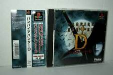 VAMPIRE HUNTER D USATO OTTIMO SONY PSX PSONE EDIZIONE GIAPPONESE JAPAN 38203