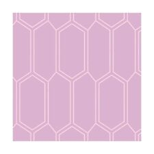 Fabric Honeycomb Design Blender Lavender on Cotton by the 1/4 yard BIN