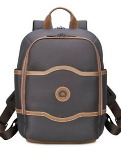 DELSEY CHATELET PLUS BACKPACK, CHOCOLATE, IDEAL FOR LADIES TRAVEL. BRAND NEW