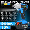 Li-ion Cordless Impact Wrench Electric Driver Hand Drill Rattle Gun Sockets Tool