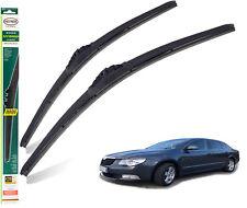 Skoda Superb ESTATE 2008-2014 full set of 3 HEYNER wiper blades FRONT+REAR TL