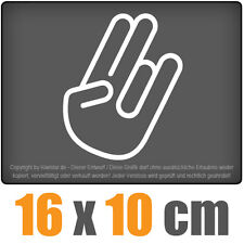 The Shocker Hand 16 x 10 cm JDM Decal Sticker Aufkleber Racing Die Cut