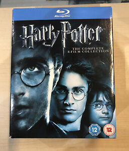 (Blu-ray) Harry Potter The Complete Eight Film Collection