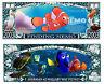 Nemo ! Billete Million Dólar ! Colección Dibujos Animados Disney Dory Le Monde