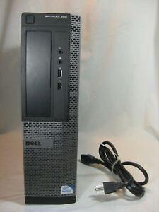 Dell Optiplex 390 Intel CPU 2.7GHz 4GB 250GB Win10 Desktop Computer w/ power