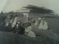 ephemera 1893 picture the derby horse racing chicago