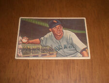 1952 BOWMAN BASEBALL CARD  CHICAGO WHITE SOX CHICO CARRASQUEL #41