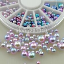 glitter nail art decorations rhinestone pearl beads steering-wheel nails jewelry