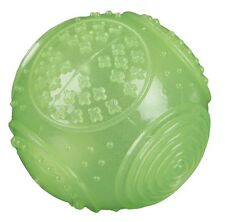 Pet Dog Play Chew Phosphorescent Ball Toy Light Glow in the Dark by TRIXIE