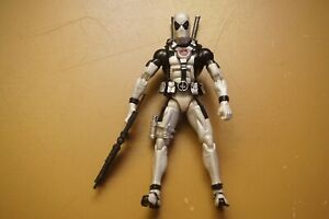 Marvel Legends X-Men X-Force Unreleased Cancelled Prototype White Deadpool Rare