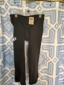 NWT Women's Size XL Classic Black Cycling Capris by Pearl Izumi-$80 Retail!