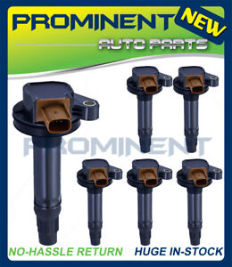 6 Ignition Coils UF646 Replacement For Ford F-150 Explorer Lincoln Ecoboost 3.5L