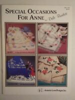 Special Occasions for Anne Cloth Afghans Dale Burdett DB-7139 Cross Stitching