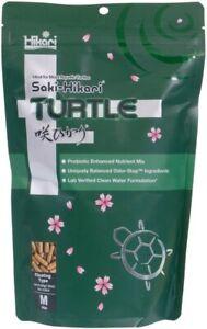 Hikari Saki Turtle Floating Type Food Ideal for Most Aquatic Turtles, M, 7.05 oz