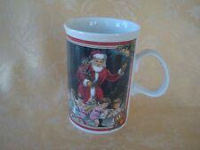 "Dunoon Stoneware Mug ""Merry Christmas motif"" England"