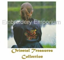 ORIENTAL TREASURES COLLECTION - MACHINE EMBROIDERY DESIGNS ON CD OR USB
