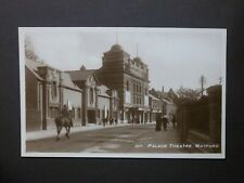 """Hertfordshire """"107. PALACE THEATRE. WATFORD"""" Real Photographic Postcard unposted"""