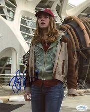 "Britt Robertson ""Tomorrowland"" AUTOGRAPH Signed 8x10 Photo ACOA"