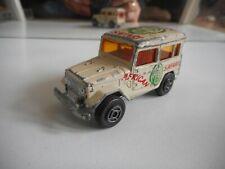 """Majorette Toyota Jeep """"African Safari"""" in White"""