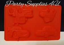 Disney Cars Lollipop silicone mould/mold. Chocolate/party/fondant/sweets/McQueen