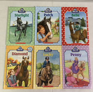 Breyer Stablemates  Books LUCKY PATCH STARLIGHT BELLE PENNY DIAMOND LOT-6 LEVEL