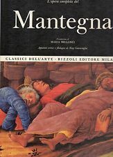 classici dell arte rizzoli- l opera completa del mantegna