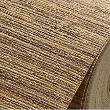 Modern natural string wood linen woven chinoiserie grasscloth textured wallpaper