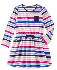 NWT Gymboree Girls Mix N MATCH Striped Knit Pocket Dress NEW Size S 5 6