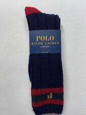 polo ralph lauren 69 % Lambswool socks men Navy color