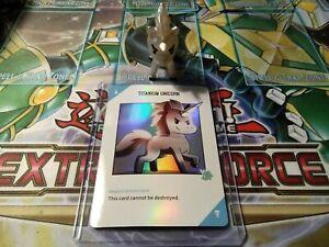 Unstable Unicorns Vinyl Series: Titanium Unicorn *Exclusive* Vinyl + Holo Card!