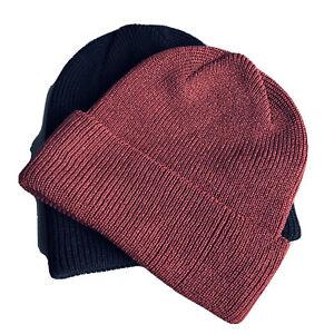 100% Merino Wool Beanie Hat