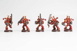 Warhammer 40K Chaos Space Marine Berserker Squad 1