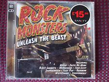 VA - Rock Monsters.Unleash The Beast.Double CD.Queen,Sabbath,Rush,Free,Dio,Gun.