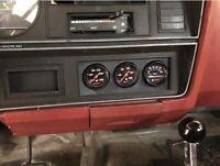 Dodge Ramcharger 2nd gen Triple Gauge Pod 52mm Boost Gauge Pod Mount