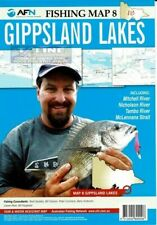 AFN GIPPSLAND LAKES FISHING MAP 8 - TEAR & WATER RESISTANT MAP