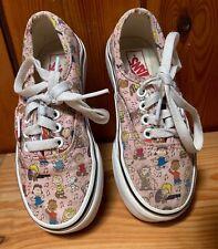 VANS Kids Shoes Peanuts Snoopy size UK 11, 16.5 cm
