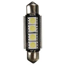 10 Pack 42MM 5050 4-SMD White Car Festoon Dome Map Interior LED Light Bulbs NEW