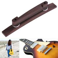 1pc 6 String Archtop Jazz Guitar Adjustable Floating Rosewood Bridge Guitar Part