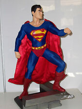 SUPERMAN 1:4 SCALE MUSEUM QUALITY STATUE #457 DC DIRECT PREMIUM FORMAT NEW 52 1)