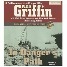 W E B Griffin IN DANGER'S PATH Unabridged 22 CDs 25 Hours *NEW* FAST Ship!