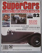 SUPERCARS magazine Issue 82 Featuring Jaguar SS100 cutaway drawing, Adrian Newey