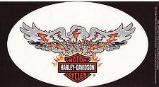 Harley Davidson Pegatina Sticker modelo Eagle Flame bar & shield 26,0 x 15,5 cm