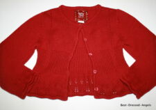 BABY GAP Red Cardigan Sweater Girl Size 4 Precious Boutique Clothes