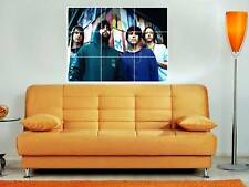 """ANIMAL COLLECTIVE 35""""X25"""" MOSAIC MONTAGE WALL POSTER"""