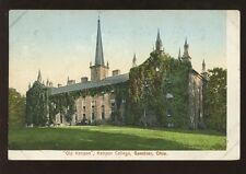 SCHOOL COLLEGE c1905 EARLY UB PPC USA...KENYON COLLEGE GAMBIER OHIO