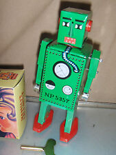Schylling Tin Toy Robot Lilliput Green