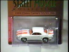 White / Orange 1969 CHEVY CAMARO SS/RS 396 ~ Tiger Wheels Liberty Promo 1,500 LE