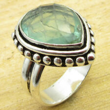 Classic Apatite EXQUISITE Ring Size Q ½ ! Silver Plated Jewelry WHOLESALE PRICE